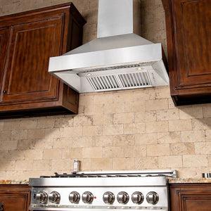 ZLINE 30 in. Remote Blower 400 CFM Wall Mount Range Hood (655-RS-30-400)