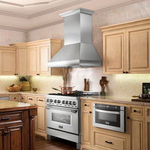 ZLINE 36 in.  Remote Blower Wall Mount Range Hood in Stainless Steel (687-RS-36-400)