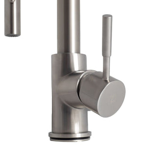 ZLINE Arthur Kitchen Faucet in Brushed Nickel (ATH-KF-BN)