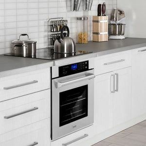 Microwave Zline AWS-30 30 Professional Single Wall Oven In