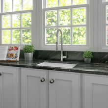Farmhouse Sink Zline FRC5123-WH-24 Rome 24 Dual Mount
