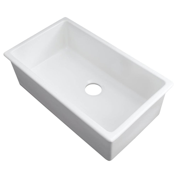 Farmhouse Sink Zline FRC5124-WH-30 Rome 30 Dual Mount
