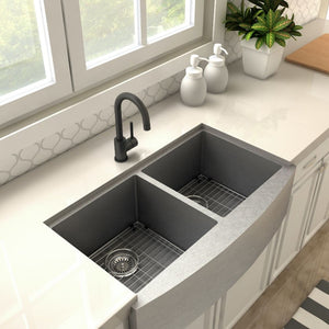 ZLINE Renoir Kitchen Faucet in Matte Black (REN-KF-MB)