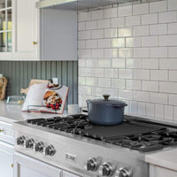 ZLINE 48 in. Porcelain Rangetop with 7 Gas Burners (RT48)