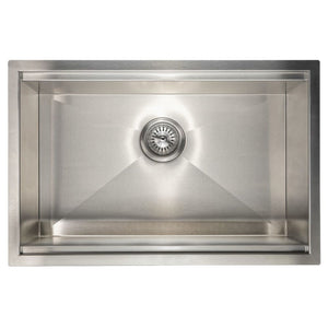 Farmhouse Sink Zline SLS-27 Garmisch 27 Undermount Single