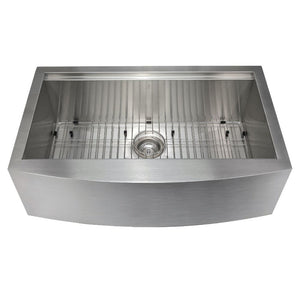 Farmhouse Sink Zline SLSAP-33 Moritz 33 Undermount Single