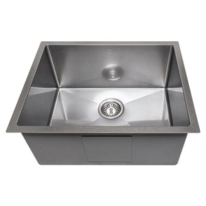 Farmhouse Sink Zline SRS-23S Meribel 23 Undermount Single