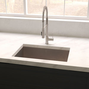Farmhouse Sink Zline SRS-27S Meribel 27 Undermount Single
