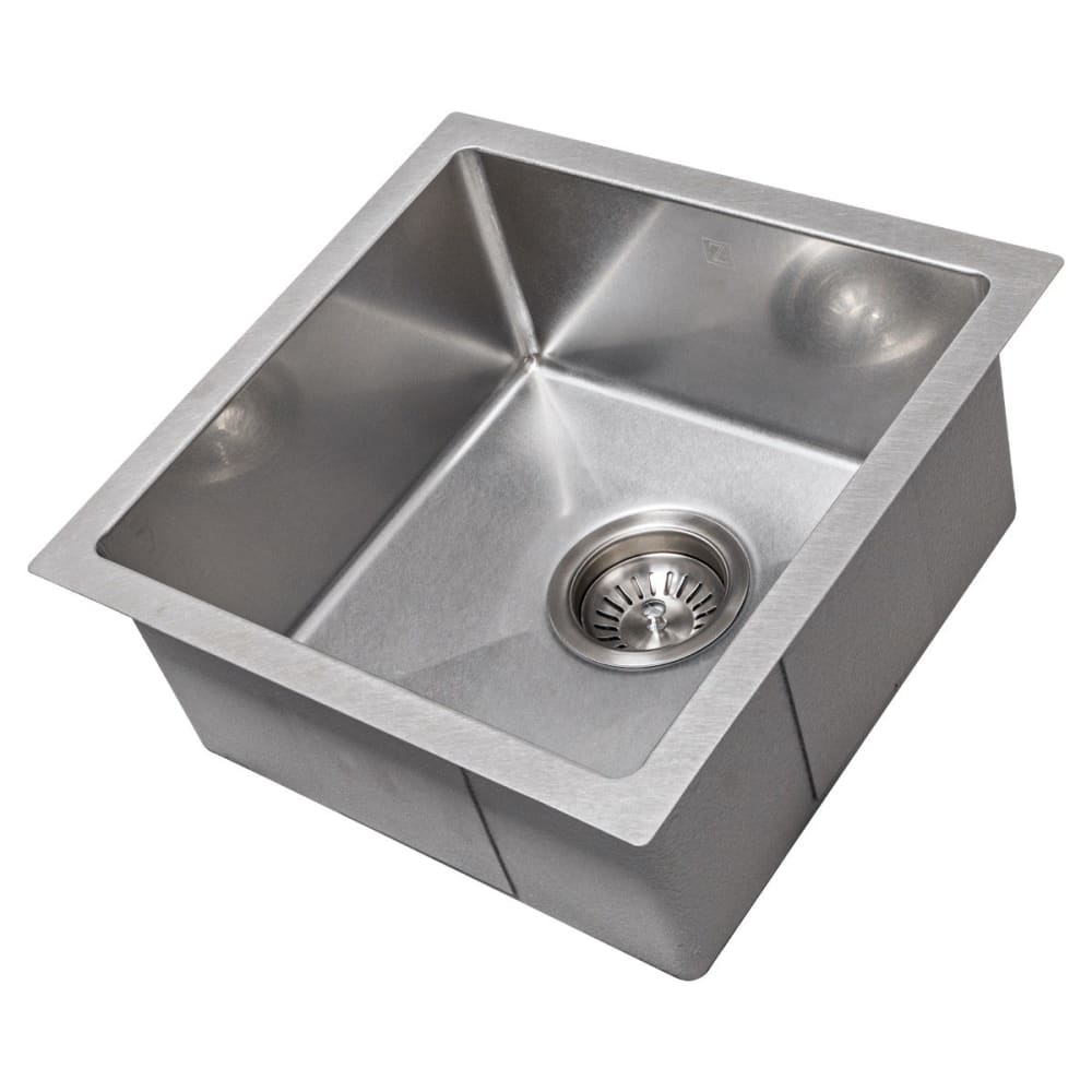 Farmhouse Sink Zline SUS-15S Boreal 15 Undermount Single