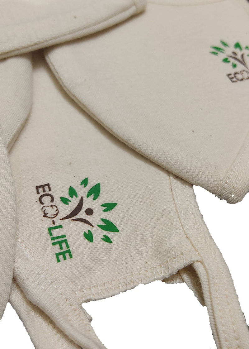 Eco-Life Undyed Organic Cotton Face Mask