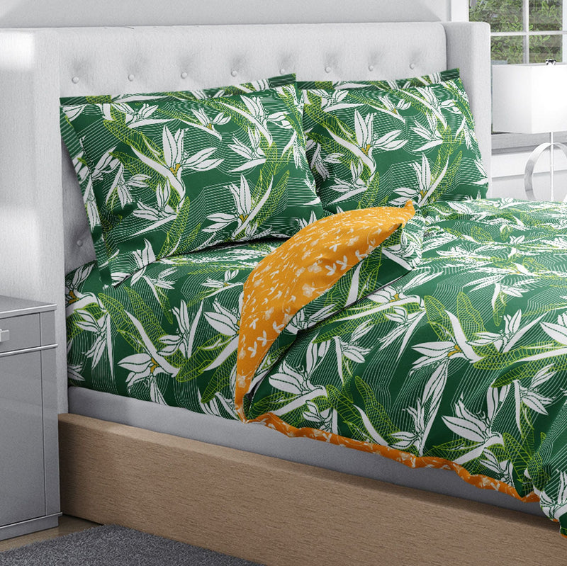 Swaas 100% Pure Cotton Tropical Treasure Pillow Covers