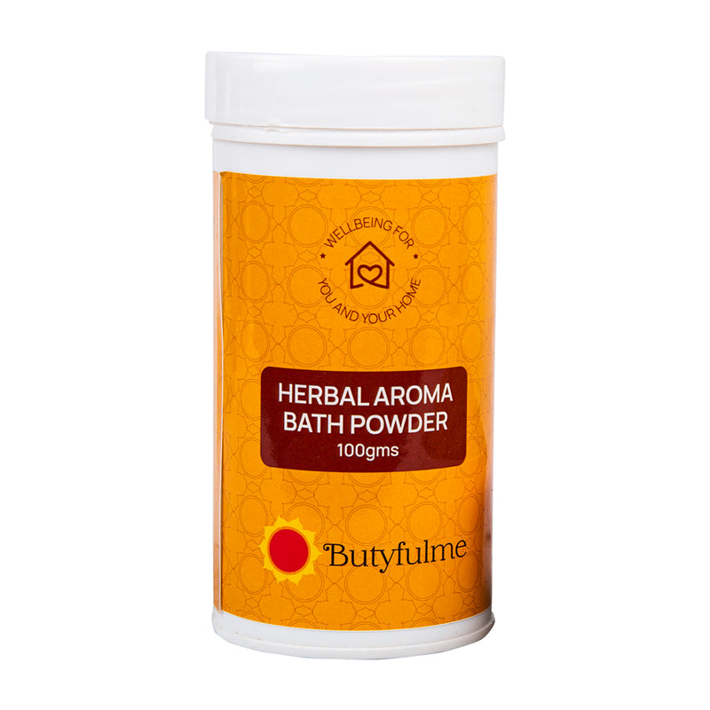 Butyfulme Pavazham Extra Aroma Bath Powder 100gms - Pack of 2