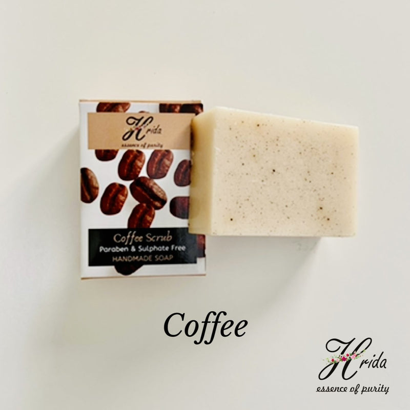 Hrida Coffee Handmade Soap - hfnl!fe