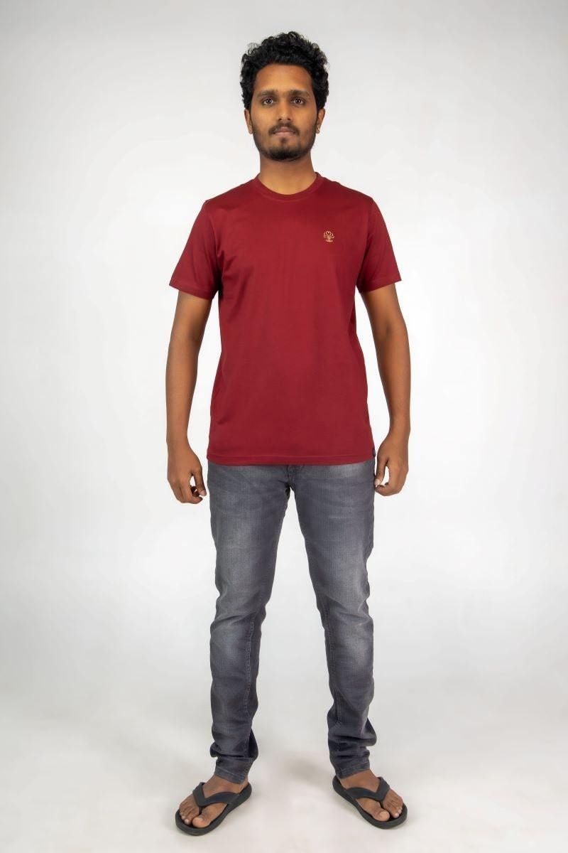 HFN Mens Crew Neck Supima Cotton T-shirt