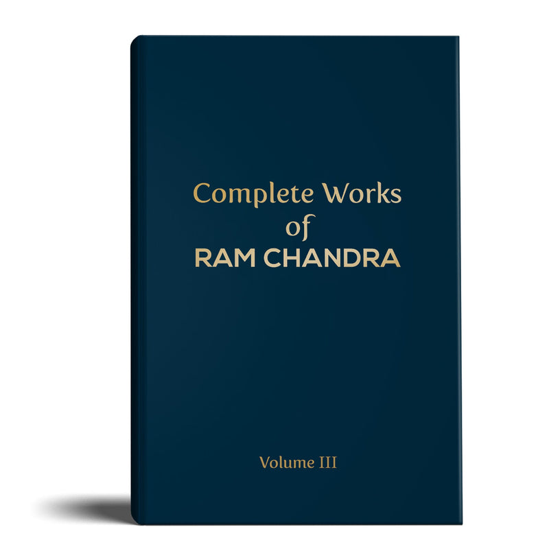 Complete Works of Ram Chandra (Babuji) - Volume 3 - hfnl!fe