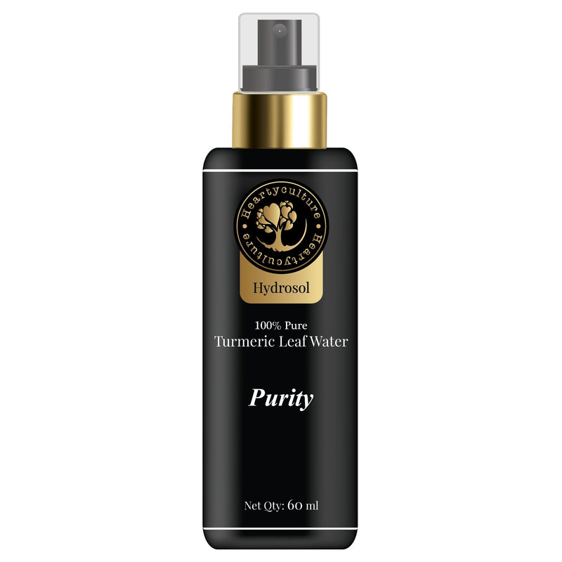Heartyculture Purity (Turmeric Leaf Water) Hydrosol - 60 ml