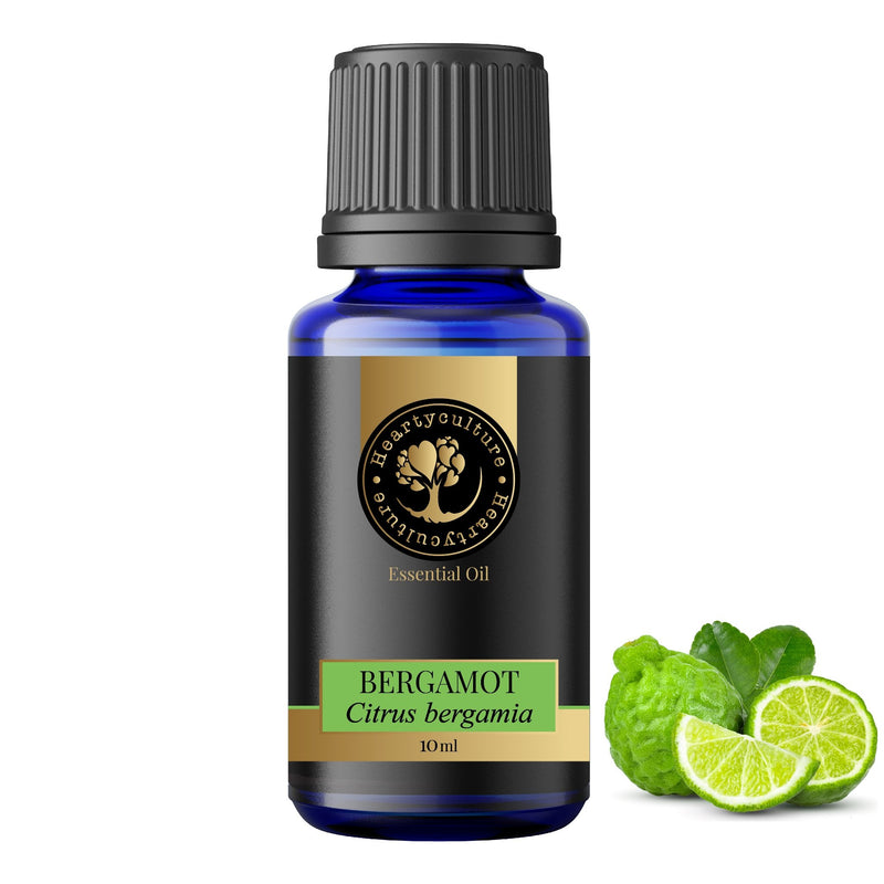 Heartyculture Bergamot Essential Oil - 10 ml - hfnl!fe