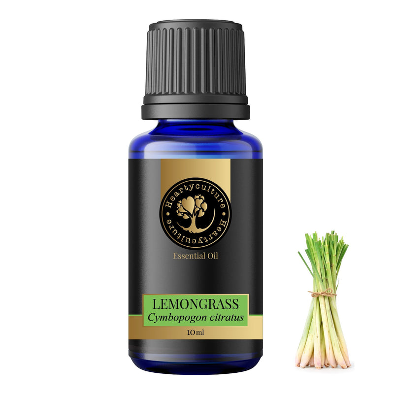 Heartyculture Lemongrass Essential Oil - 10 ml