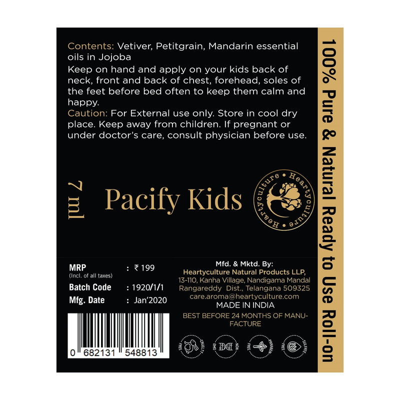 Heartyculture Pacify Kids Roll-on - 7 ml
