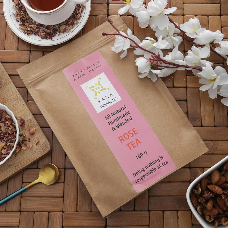 Yaza Rose Tea -The Spirit Uplifter with Great Aroma