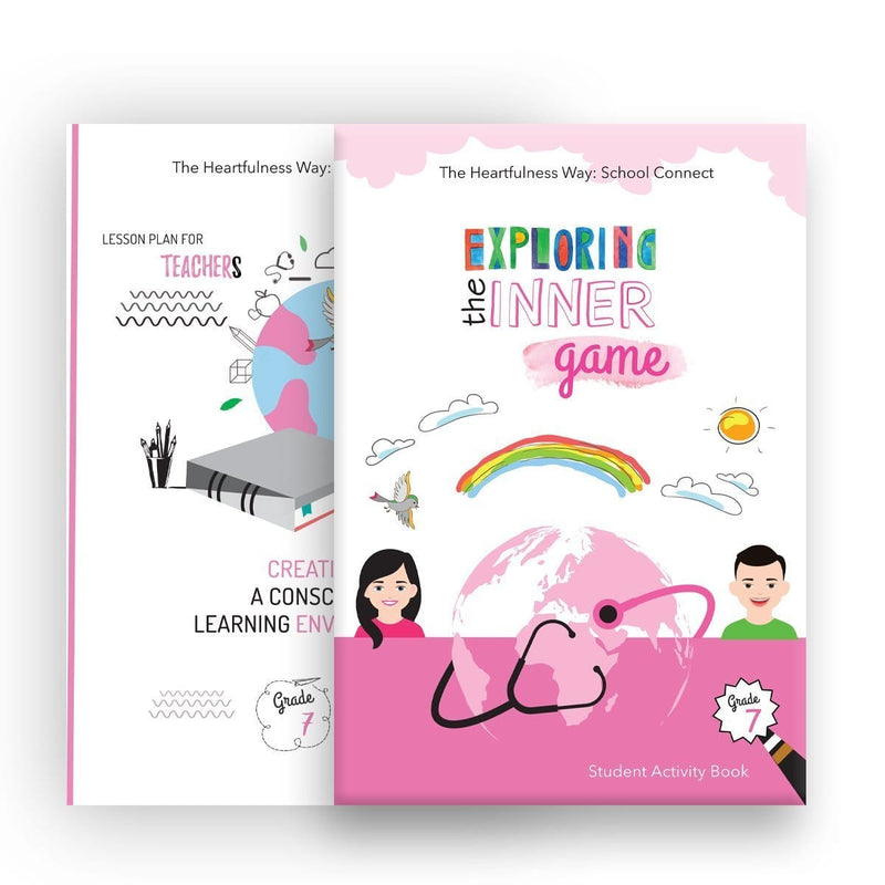 The Heartfulness Way Curriculam Kit For Students - Grade 7 - hfnl!fe