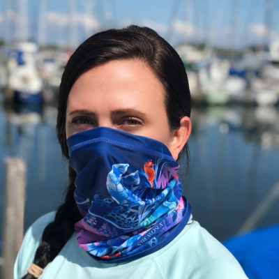 Stream2Sea Neck Gaiter Face Scarf available in 3 colors
