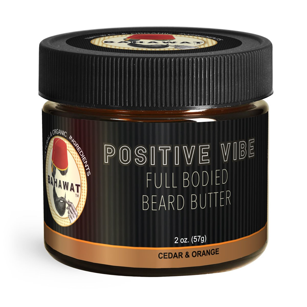 "Bahawat Beard Butter Cedar Orange ""Positive Vibe"""