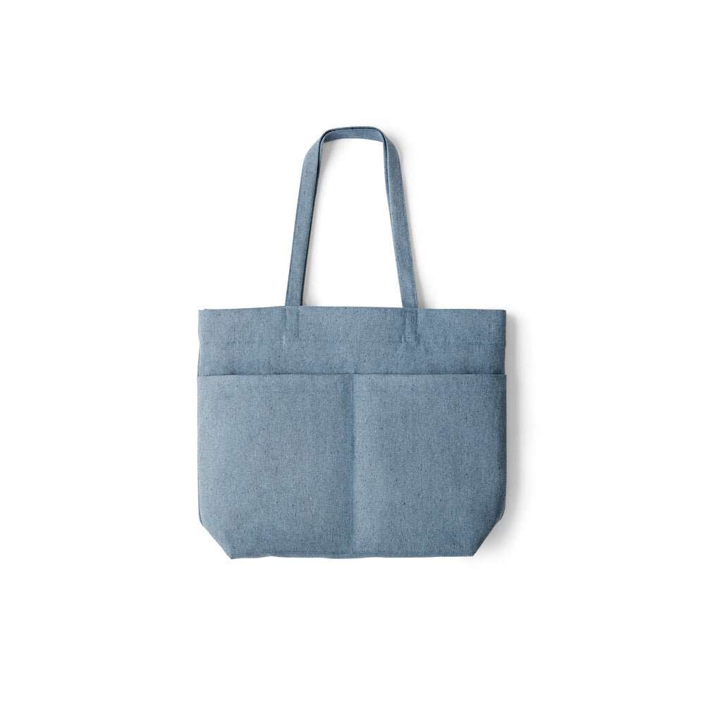 'Ship Tote | In Upcycled Denim