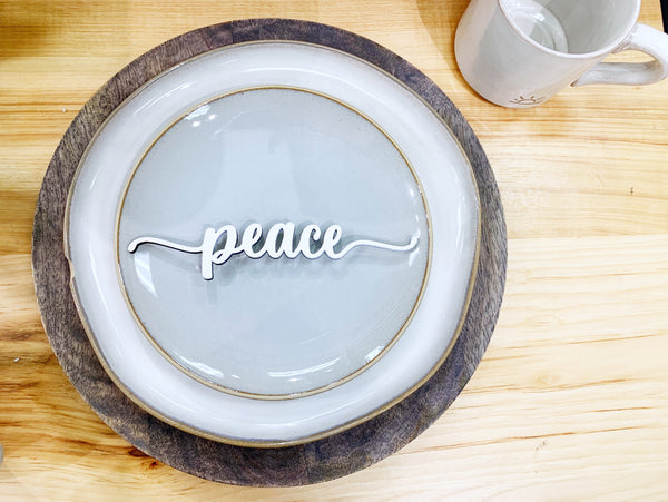 Place setting words