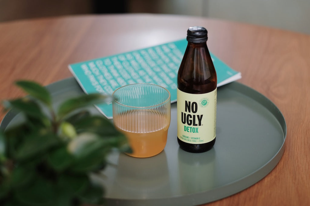 no ugly detox wellness beverage from New Zealand