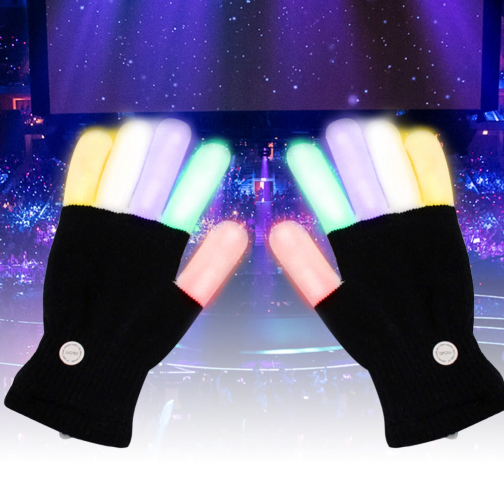 Knitted LED Gloves