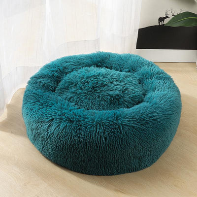 Deluxe Cozy Soothing Plush Pet Bed