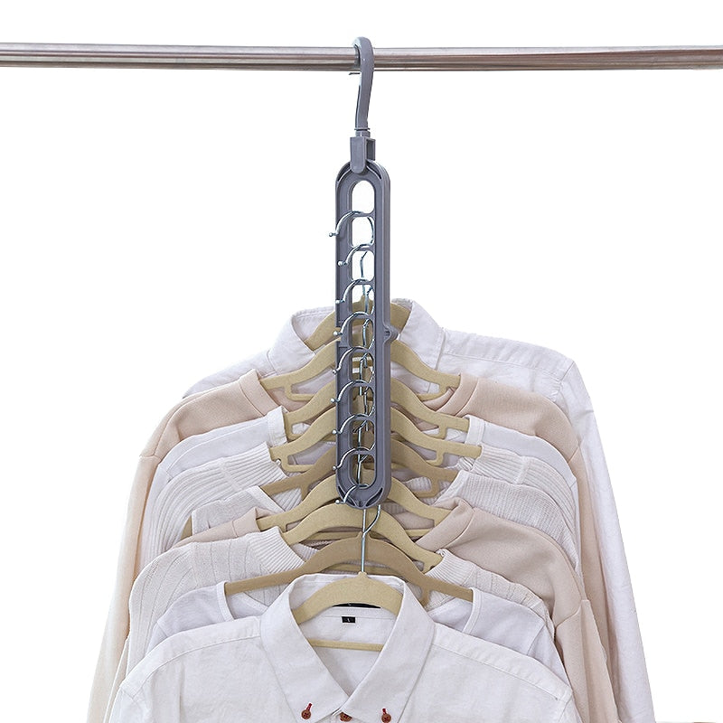 Space Saving Multi-Clothes Hanger