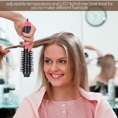 2 in 1 Hair Dryer and Rotating Round Brush