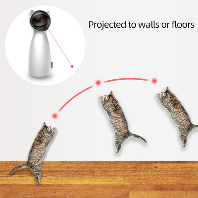 Interactive Cat Laser Chasing Toy