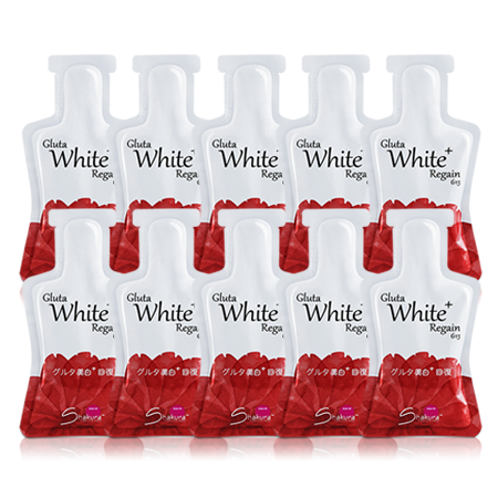 GLUTA WHITE + REGAIN 10X30ML [SA613S-0]