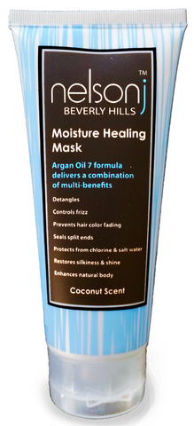 Moisture Healing Mask (Argan Oil Formula) - 3 4oz - BEST FOR GYM, TRAVEL,  and OUTDOOR USE