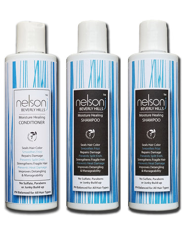 Salon Hair Essentials Trio