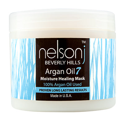 Argan Oil 7 Moisture Healing Mask - Scent: Coconut - 16 oz