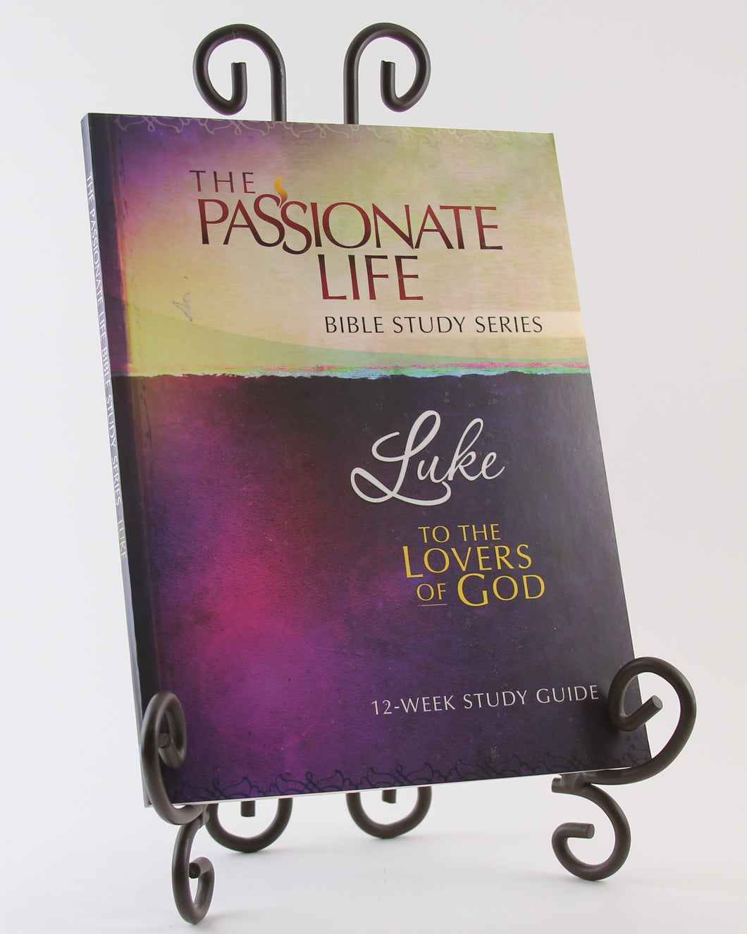 Luke: To The Lovers Of God 12-Week Study Guide (The Passionate Life Bible Study Series) Paperback