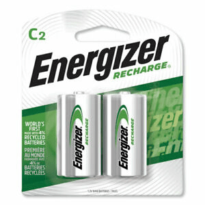 Energizer Rechargeable C Size Batteries (2-Pack) - Mask It Now