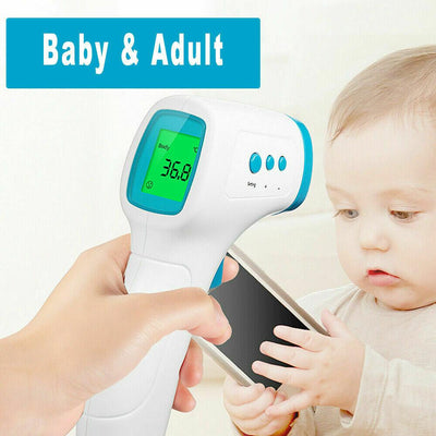 Touchless Thermometer Reader - Mask It Now