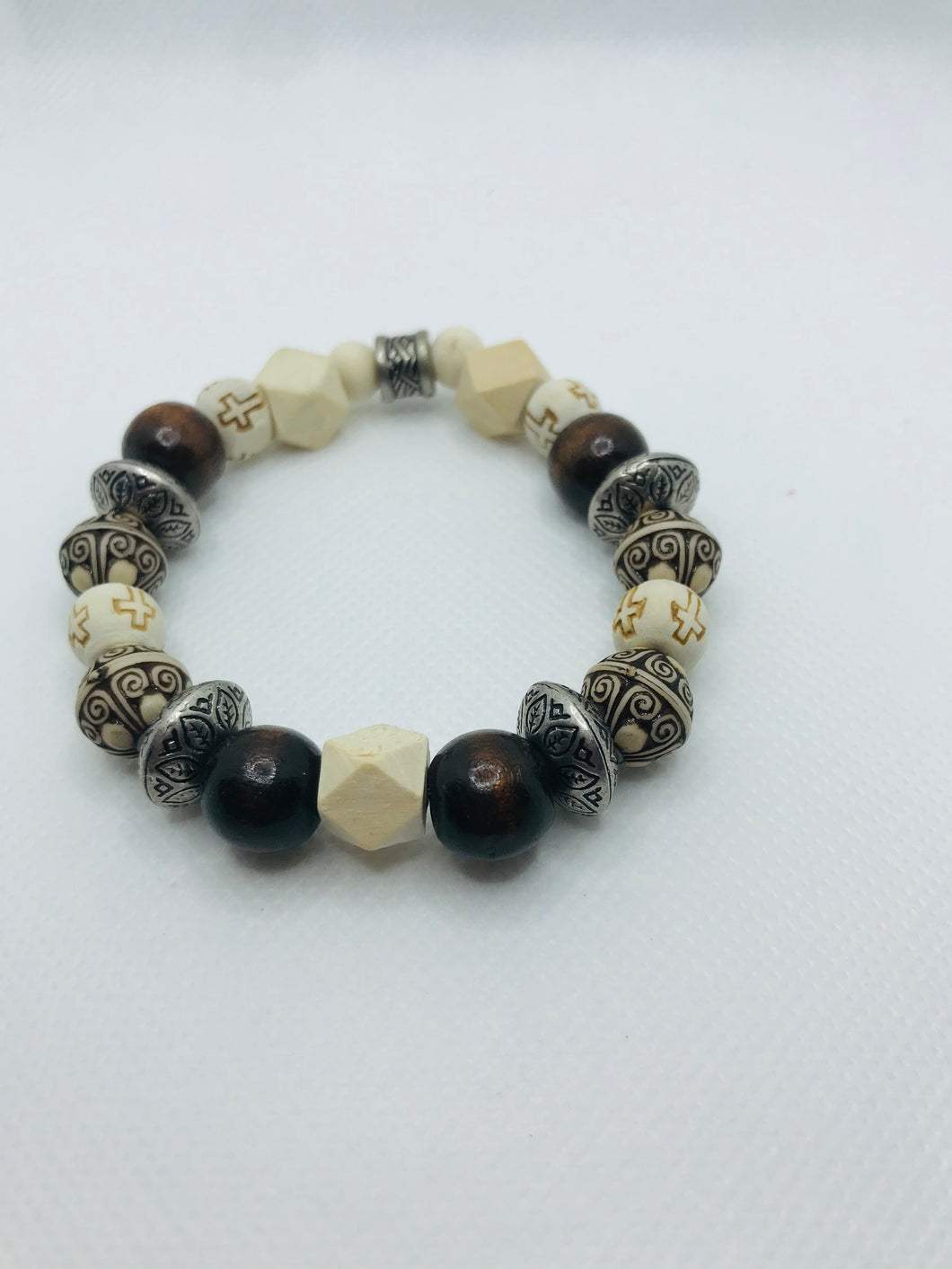 The David Wood Bead Stretch Bracelet
