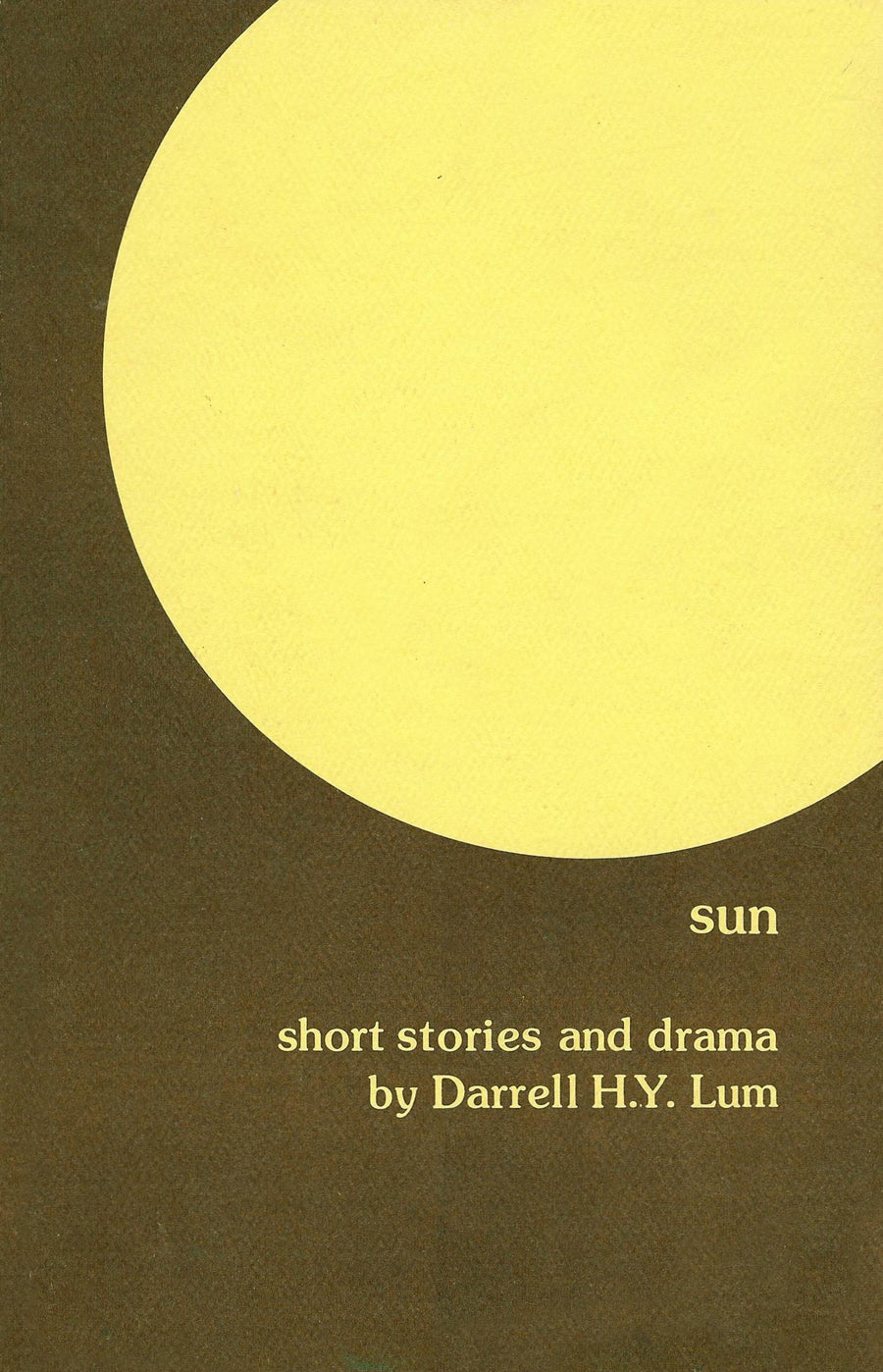 Sun: Short Stories and Drama