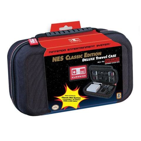 Nintendo Classic Mini SNES & NES Deluxe Travel Case