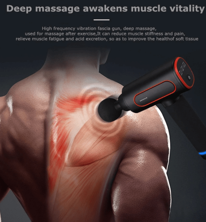 High Frequency 25W Deep Muscle Tissue Massage Device