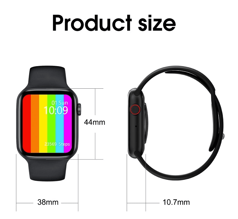 Infinity Display Bluetooth Smartwatch