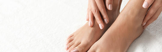 Discover the best cure for dry, cracked heels