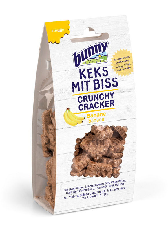 Bunny Nature Crunchy Crackers - Banana (50g)