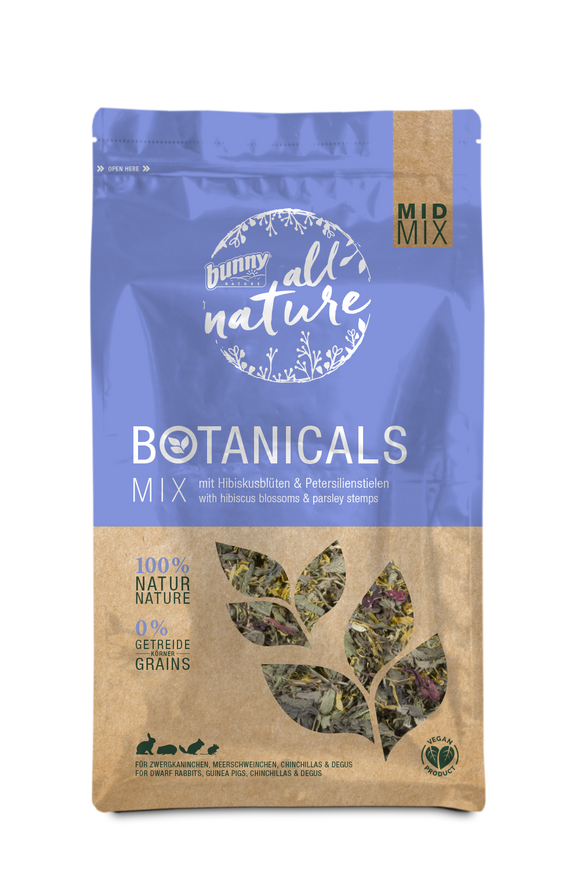 Bunny Nature Botanicals Hibiscus Blossoms & Parsley (150g)